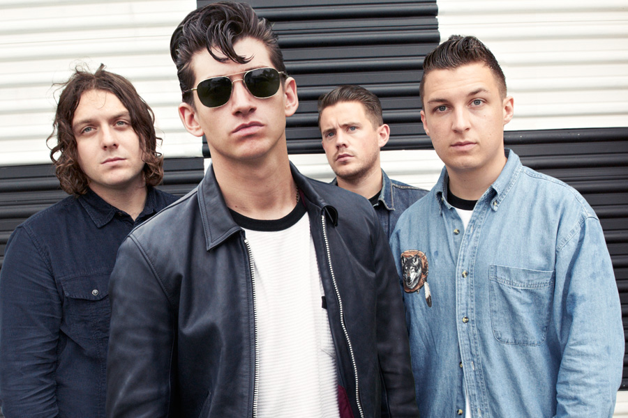 Arctic Monkeys HD band image