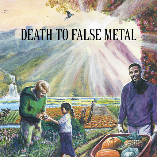 Weezer- Death to False Metal (2010) HD album art